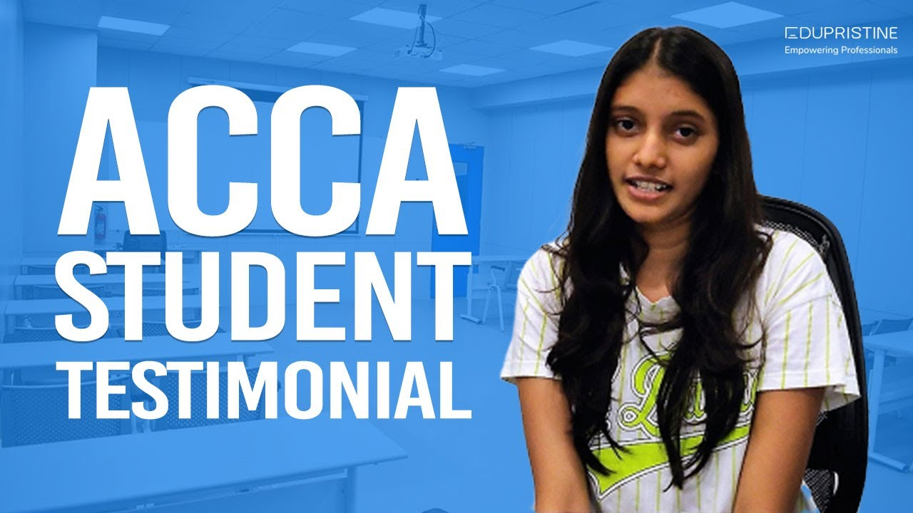 ACCA Course - Get Details About ACCA Course Exam - EduPristine