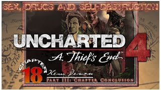 """Sex, Drugs and Uncharted 4   Chapter 18: """"New Devon"""" Part 3 (Crushing Mode)   [LIVE WALKTHROUGH HD]"""