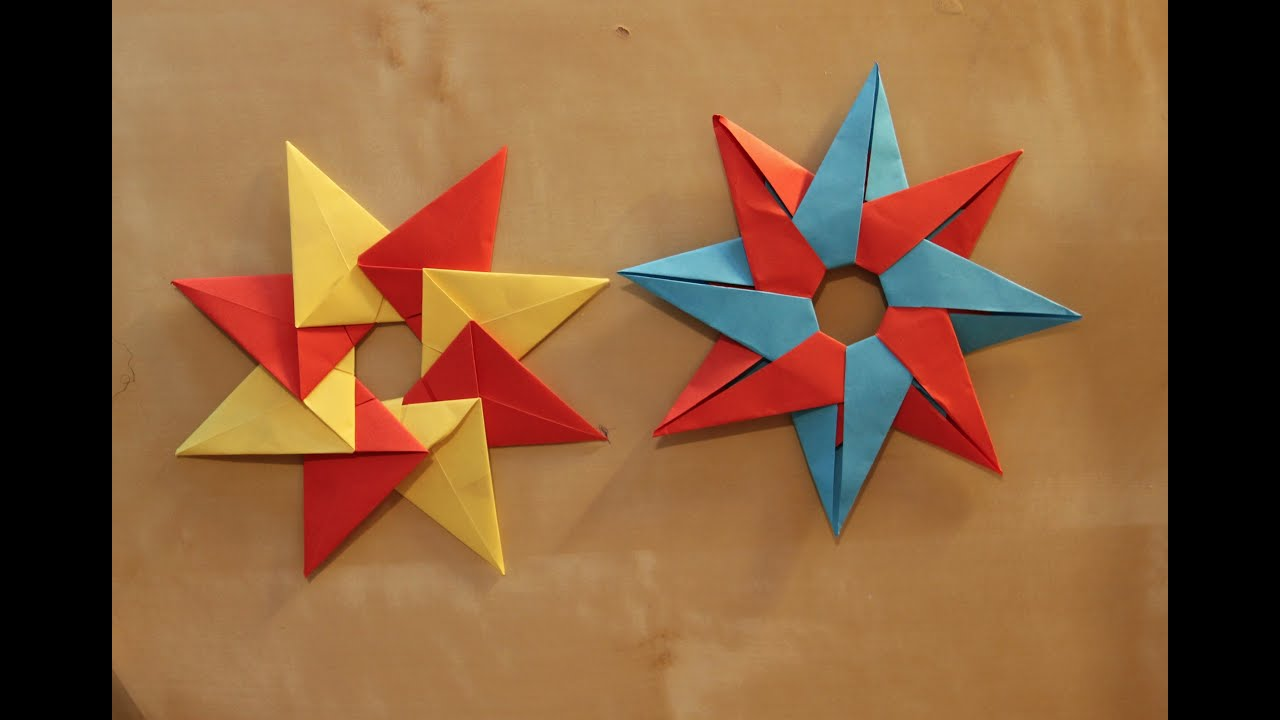 Christmas origami instructions hex star maria sinayskaya youtube - Christmas Origami Instructions Hex Star Maria Sinayskaya Youtube 4