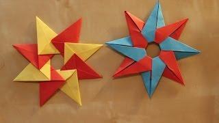 Origami star 'Tico' by Maria Sinayskaya