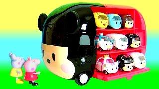 Carrinhos Disney Tsum Tsum a Casa do Mickey Tomica Takara Tomy thumbnail