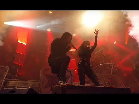 """Kamelot Ft Lauren Hart """"March Of Mephisto LIVE"""" At Germany"""