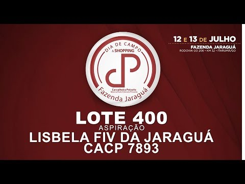 LOTE 400