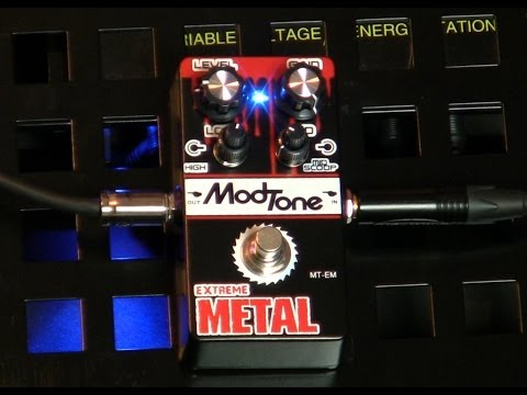 ModTone Mayhem : EXTREME METAL PEDAL ~ Video #1