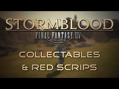 Final fantasy 14 mining collectables