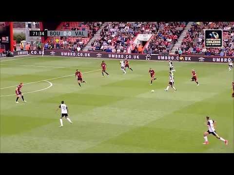 Bournemouth 0-1 Valencia, Gol de Fabián Orellana (V)