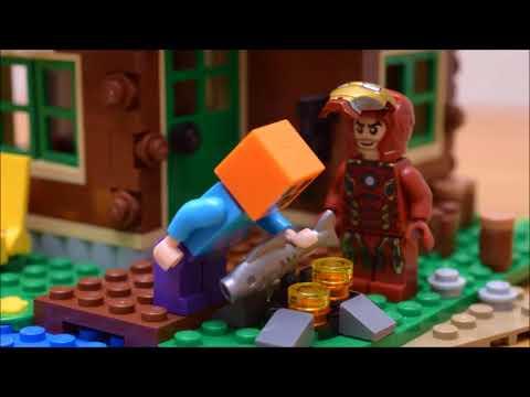 Lego Super Heroes Stop Motion Animation レã,' マã,¤ãƒ³ã,¯ãƒ ム• ムã,¹ãƒãƒƒãƒ-ム¢ ーã, · ãƒ
