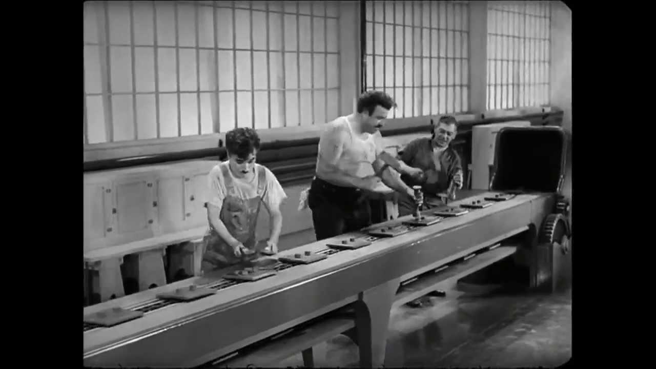 Chaplin Modern Times -...
