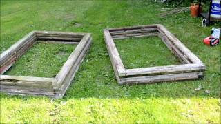 Diy Project: Making Garden Beds Out Of Reclaimed Window Frames