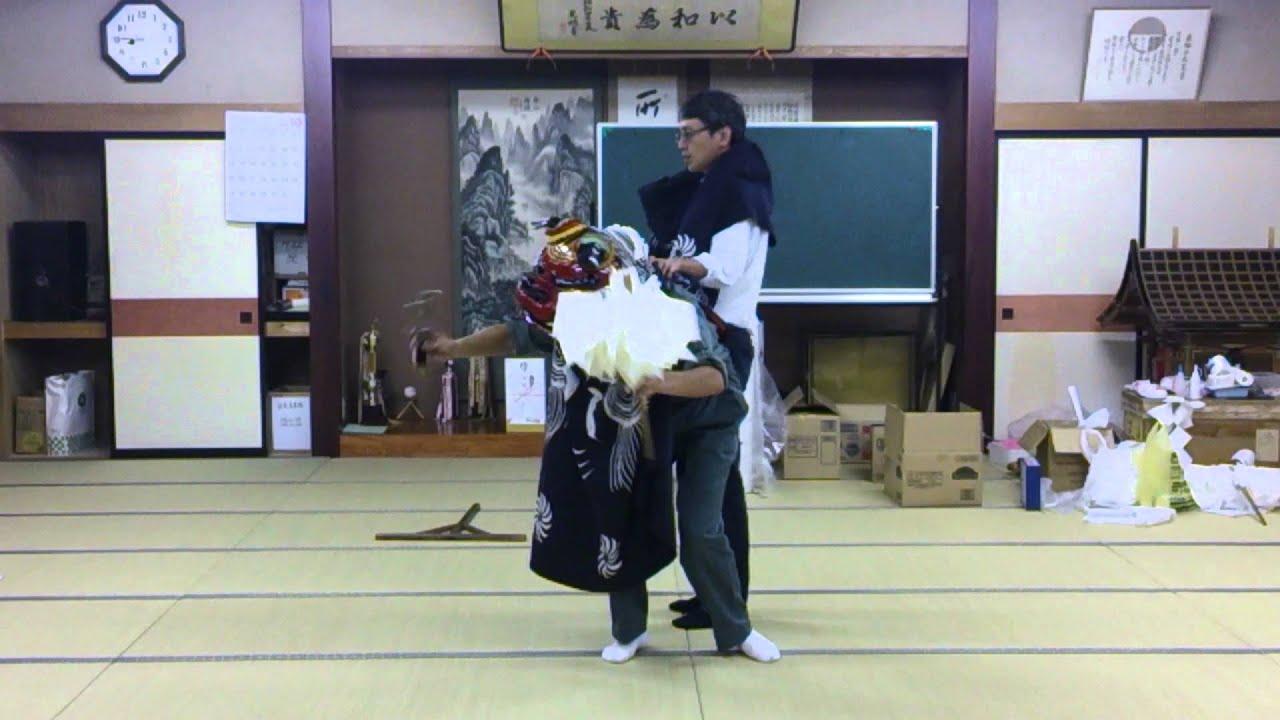 獅子舞 おっぱいポ(loli)ロリ