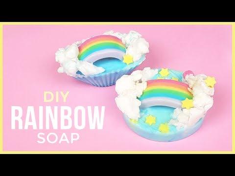 DIY Rainbow Soap | Easy & Fun DIY Soap Making