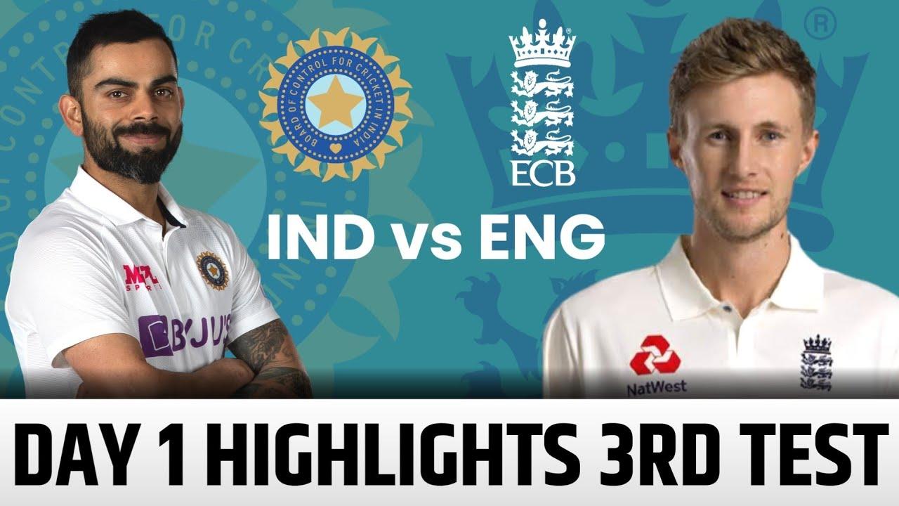 India vs England Live Score, 3rd Test, Day 1: Burns, Hameed take ...