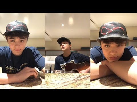 Asher Angel | Instagram Live Stream | 13 January 2019