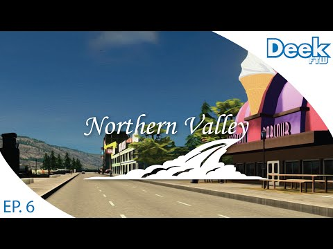 Let's Design Northern Valley Ep.6 - Municipal Service Plaza and Shopping Square - Cities Skylines