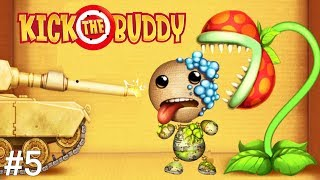 Kick the Buddy | Fun With All Weapons VS The Buddy #5 | Android Games 2019 Gameplay | Friction Games