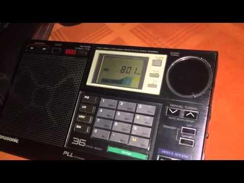 Azerbaijan Radio 801 kHz received in Romania