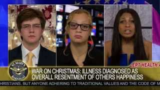 WAR ON CHRISTMAS TV AD: Entitled PC Socialist Offended by Dr. Seuss, Truth & Happiness News Parody
