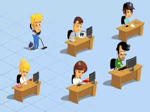 Office Workers animation