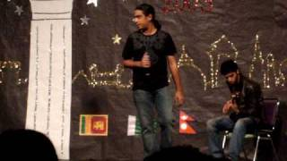 MSU South Asian Night 2009 - Pakistani song