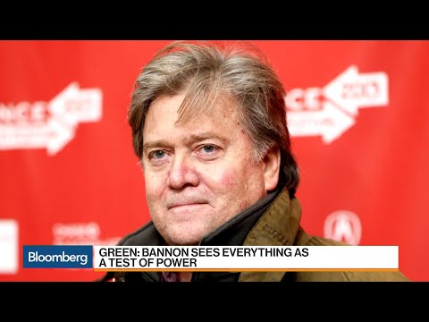 Author Green Says Bannon Sees Everything as Test of Power