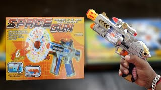|| 🎭LASER SOUND 🔫GUN, 🚀SPACE GUN TOY || REVIEW AND UNBOXING || INDIAN TOY STORE ||