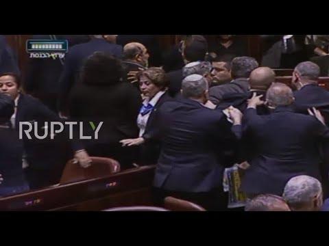 Israel: Brawl Disrupts Pence's Address To Israeli Parliament