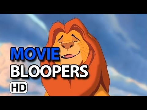 The Lion King 3D (1994) Bloopers Outtakes Gag Reel