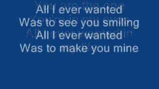 Repeat youtube video Basshunter - All I ever wanted (lyrics)