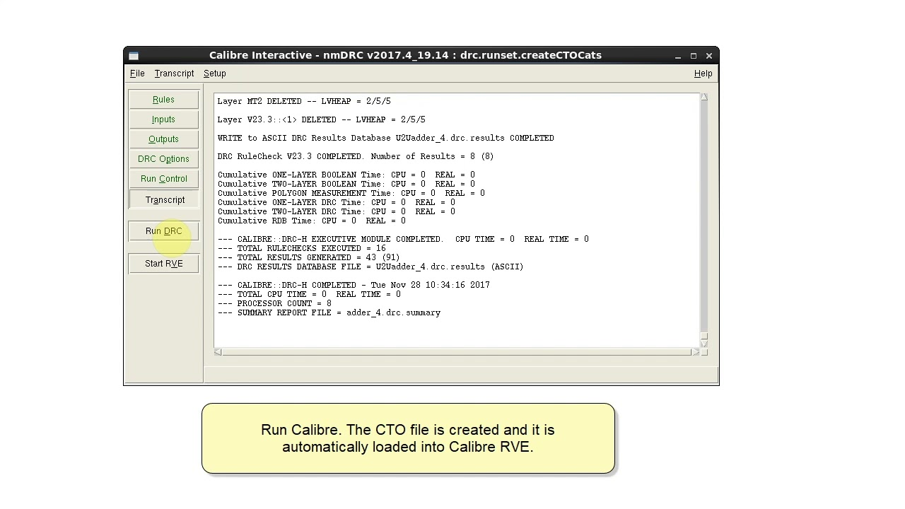 How to Filter Calibre DRC Results by Layer Using Categories in Calibre RVE