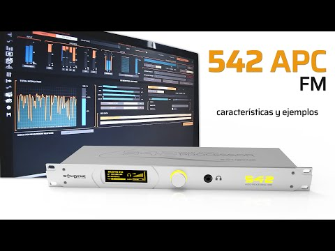 SOLIDYNE 542 - Descripción de funcionalidades