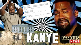 Kanye West Tweets & Campaign Rally | Famous News
