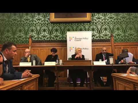 انعقاد جلسة البرلمان البريطاني بمشاركة رئيس المجلس الانتـقالي الجنوبي عيدروس الزبيدي