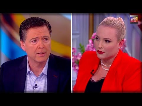 James Comey REGRETS The Second He Decided To Go on The View After Meghan McCain ENDS HIM