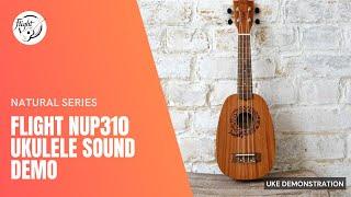 Flight NUP310 Pineapple ukulele
