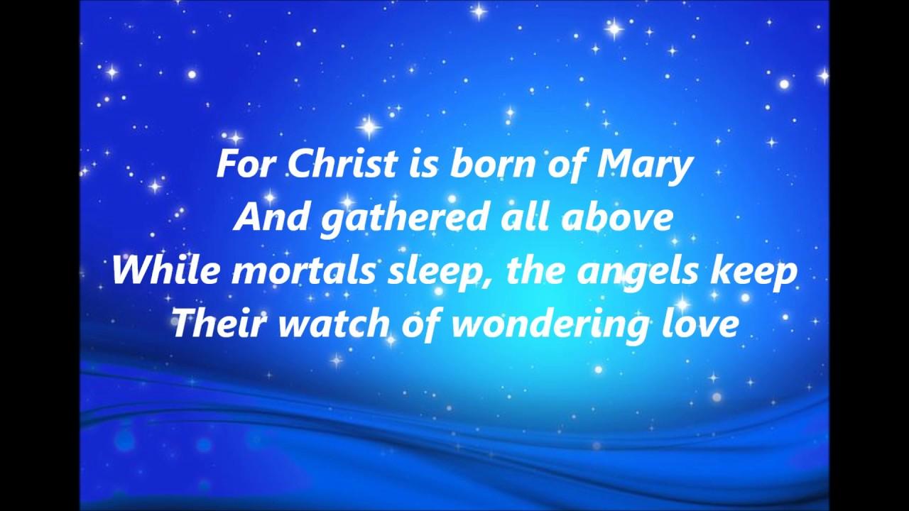 O Little Town of Bethlehem words lyrics Christmas favorite trending sing along song songs - YouTube