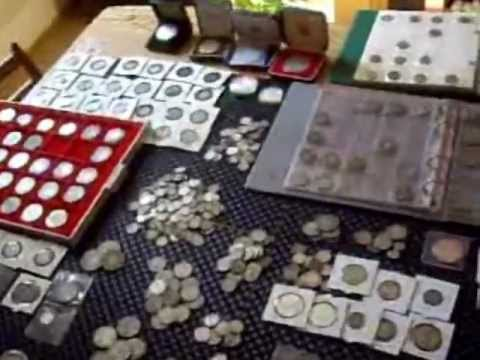 SILVER COIN COLLECTION AND FREE CONTEST. My complete silver coin collection. English picker no 100