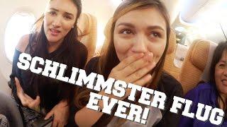 SCHLIMMSTER FLUG EVER! | AnKat