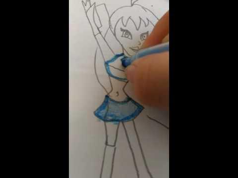 Как нарисовать Блум
