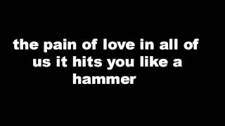tokio hotel pain of love lyrics