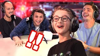 DAVID 10 ANS CLASH MCFLY ET CARLITO DANS GUILLAUME RADIO !