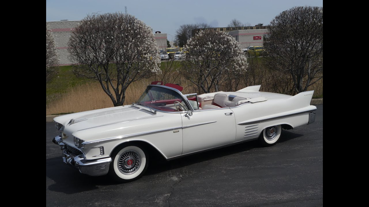 2016 Cadillac Convertible >> 1958 Cadillac Series 62 Convertible ***SOLD, SOLD, SOLD*** - YouTube