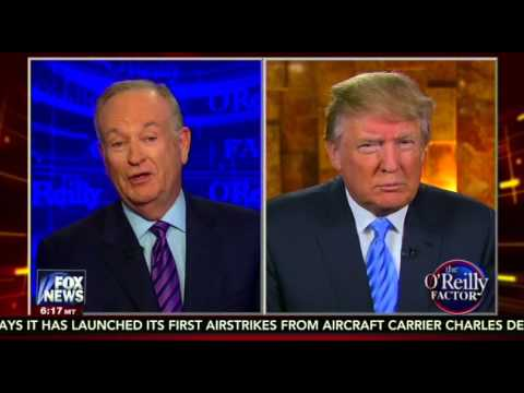 Bill O'Reilly Presses Donald Trump on 'Totally Wrong' Crime Statistics Tweet: 'That Bothered Me'