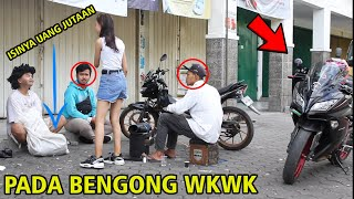 WOW !! GEMBEL INI BAWA UANG SEKARUNG DIJEMPUT CEWEK SEXY PAKEK MOGE -  Give Away Rp 3.000.000,-