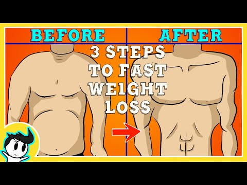 How to LOSE Weight FAST in 3 EASY STEPS!