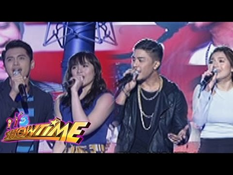 It's Showtime: Marlo, Janella, Kris, Kyla sing on It's Showtime
