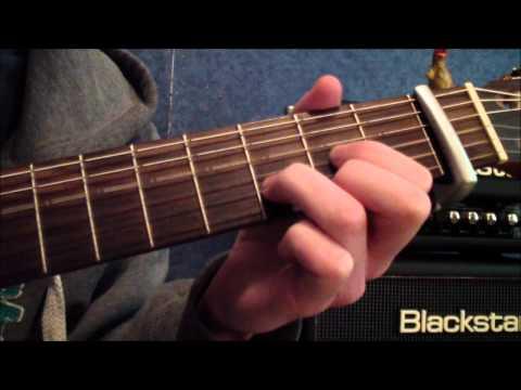 Guitar Lesson - 'Jar of Hearts' by Christina Perri