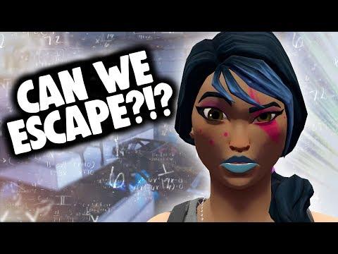 CAN WE ESCAPE?!?! (Fortnite - The Enrichment Center)