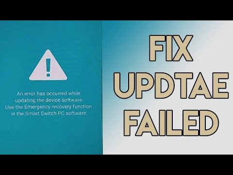 How To Fix Software Update Failed On Samsung Galaxy New Devices