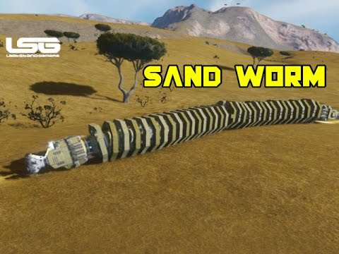 space engineers sand worm concept youtube
