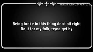 LeCrae - Broke(lyrics)